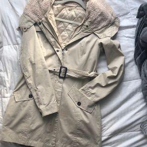 Victoria's Secret coat with removable liner